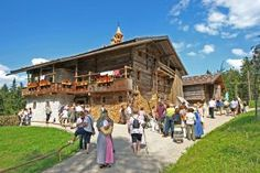 Traditional Easter market at Salzburg's Open Air Museum - Click the image fro more info