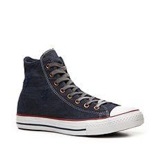 Shop  Converse Chuck Taylor All Star Distressed Denim High-Top Sneaker - Mens