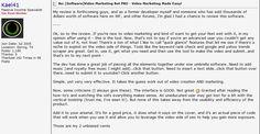 Video Marketing Bot PRO review  Video Marketing Bot PRO testimonial