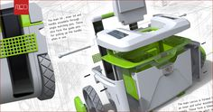 Incredible KeyShot rendering from Mike Collinson.