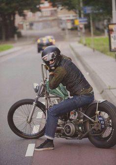 Freedom on Two Wheels Vintage Bikes, Vintage Motorcycles, Custom Motorcycles, Custom Bikes, Custom Bobber, Custom Cars, Bobber Bikes, Bobber Motorcycle, Moto Bike
