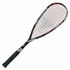 Tecnifibre Dynergy Tour 125 Squash Racquet by Tecnifibre. $139.00. Frame Weight: 125 +/- 5 g / 4.70 oz. Balance: 350 +/- 5 mm. Construction: Graphite & Blackweave. Cover: full and ventilated Grip: Tec Dry Squash grip. Head Size: 490 cm2 / 76 sq.in.. Designed for the player who wants to nail their opponents or who want to increase their power potential. Featured with Kickstep technology for power and stability and Black Weave construction for more comfort. Head Size 490 cm2, Ev... Racquet Sports, Tennis Racket, Black Weave, Discount Handbags, Black White Red, Squash, Outdoors, Nail, Coupon Binder