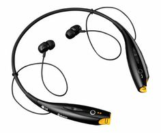 The LG Tone™ Wireless Stereo Headset - Looks like this would be a great set of bluetooth earbuds to use along with a bike or motorcycle helmet on.
