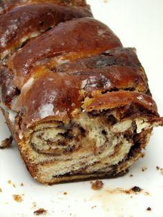 עוגיו.נט: עוגת שמרים נוטלה וחמאת בוטנים
