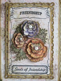 Designs by Marisa: JustRite Papercraft June Release - Friendship Card