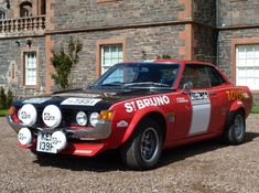 Toyota Celica 1600 GT Group 2 Rally Car (TA22) '1972–73