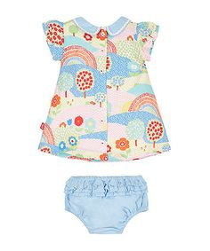 Little Bird Tunic and Knickers Set