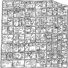 Maya La computadora en el museo me dio una impresion del año de mi nacimiento en maya, numeros y simbolos maya, lo maximo!!!