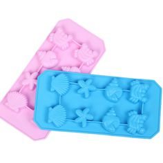 12 Holes Stars Chocolate Cake Jelly Ice Silicone Fondant Mold Mould Baking LC
