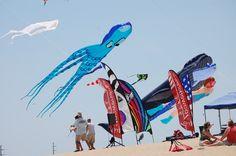 Kitty Hawk, NC  Kite Festival