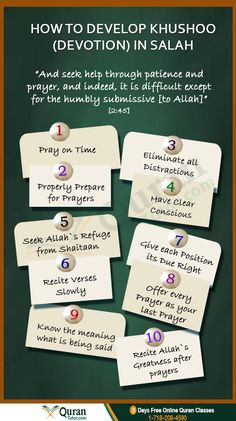 How to Develop Khushoo (Devotion) In Salah #namaz #Islam