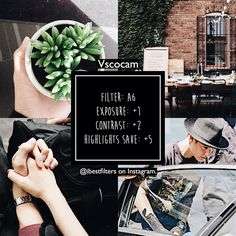 """1,239 Beğenme, 21 Yorum - Instagram'da vsco filters! (@ibestfilters): """"#A6bfilters / free filter❕ similar to @acaciabrinley 's filter, kinda good in bright and images w a…"""" Instagram Theme Vsco, Instagram Feed Themes, Ideas For Instagram Photos, Good Instagram Captions, Instagram Bio, Photo Instagram, Instagram Design, Vscocam Filters Free, Free Vsco Filters"""