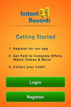 Instant rewards app- How to Get Started