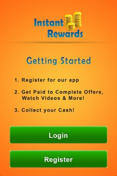 Instant rewards app- How to Get Started
