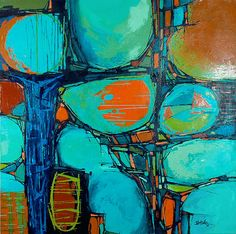 Abstract Paintings,modern art,artist,abstract,color. by Boski Sztuka