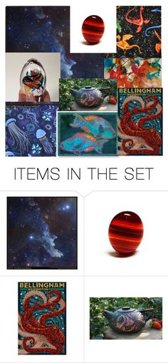 From Sea To Space by tabachin on Polyvore featuring картины