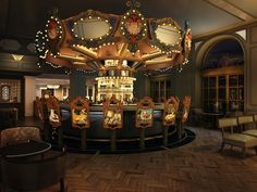 Carousel Bar- Hotel Monteleone- French Quarter- New Orleans.  Great place to hang for a drink!