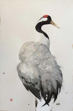 Crane (Framed) (Hungerford Gallery)