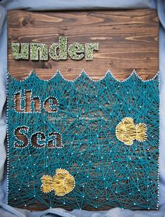 Under The Sea String Art by KeyCraftDesigns on Etsy