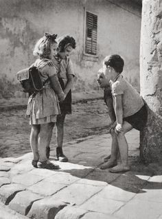 Thomas (Tom) Veres - Boys and girls, Budapest, 1955