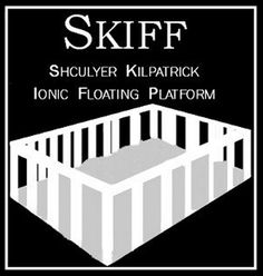 The Skiff is the most popular mode of transportation within dome cities. Piloted by computer, it begins as a device the size of a sugar cube. Once activated, it unfolds in under a second to a floating platform capable of carrying up to 8 people comfortably. Skiffs are free and are found everywhere.