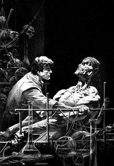 "Bernie Wrightson | Mary Shelley's ""Frankenstein"""