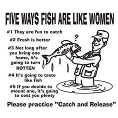 Five Ways Fish Are Like Women