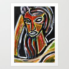 GRUDGE Art Print by ALOU - $12.48