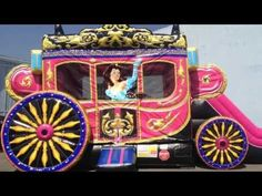 Airmax Inflatables - Princess Carriage Bounce & Slide Combo - YouTube