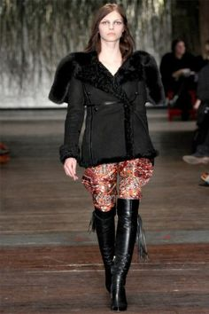 Altuzarra Fall 2012. That coat is everything.