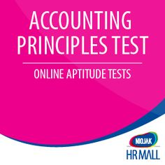 NIFT Accounting Principles Test determines whether your candidate has the Ability, Skill & Knowledge about: Impairment of Long Lived Assets Capitalization of Interest Costs Contingencies & Convertible Debt Derivatives and Hedging Activities Stock, Dividends and Splits Earnings Per Share & Income Tax Discontinued Operations Comprehensive Income Consolidation of Financial Statements Accounting Changes and Error Correction