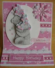 Tatty Teddy card x