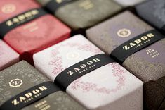 Exquisite packaging for Zador Soap