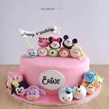 Resultado de imagen para torta de tsum tsum