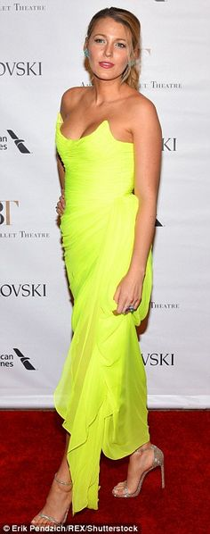 Beige strappy heels were feminine, but no one was looking at the Gossip Girl star's feet...
