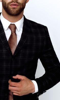 Suit & Beard , YES !