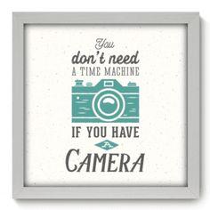 Quadro Decorativo - Camera - 036qdr