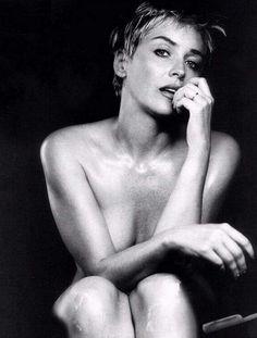 Sharon Stone for Esquire, 1999. S)