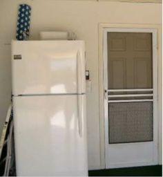 Freezer in Garage
