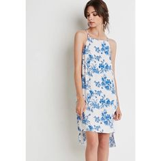 Floral Print Crepe Tunic Super Cute, New, Forever 21 Forever 21 Dresses Midi