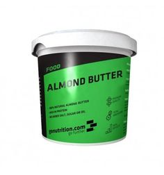 Almond Butter. Manteiga de amêndoa, rica em proteínas, ácidos gordos insaturados e saudáveis, vitaminas e minerais. www.nutriforce.pt