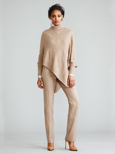 Great run around town look... would love with peep toe booties. Worth NY Fall 2013