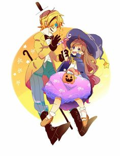 MaBill | Bill Cipher\Mabel Pines| Gravity Falls | VK