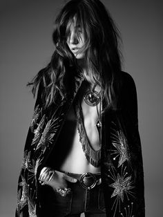 The PSYCH ROCK collection from Saint Laurent by Hedi Slimane 33 | Fashion | Vogue