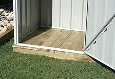 Garden Sheds, Aviaries, Carports, Garages | Absco Sheds » Timber Flooring Kits