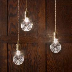 crystal bulbs - lee broom design