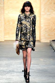 Proenza Schouler Fall 2012 Ready-to-Wear Fashion Show - Melissa Stasiuk