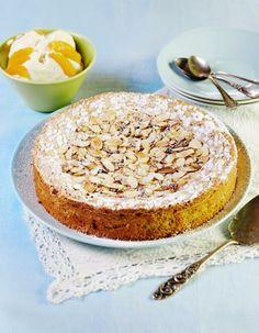 Espanjalainen mantelitorttu (Spanish Almond tort/cake)