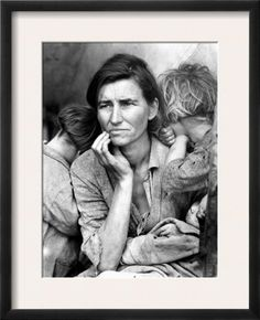 When I hear the name Dorothea Lange, this is the photo that comes to mind.