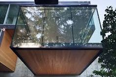 Image result for cantilevered glass box architecture